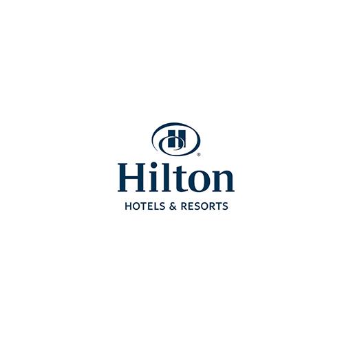 Logo du Hilton Hôtels and Resorts